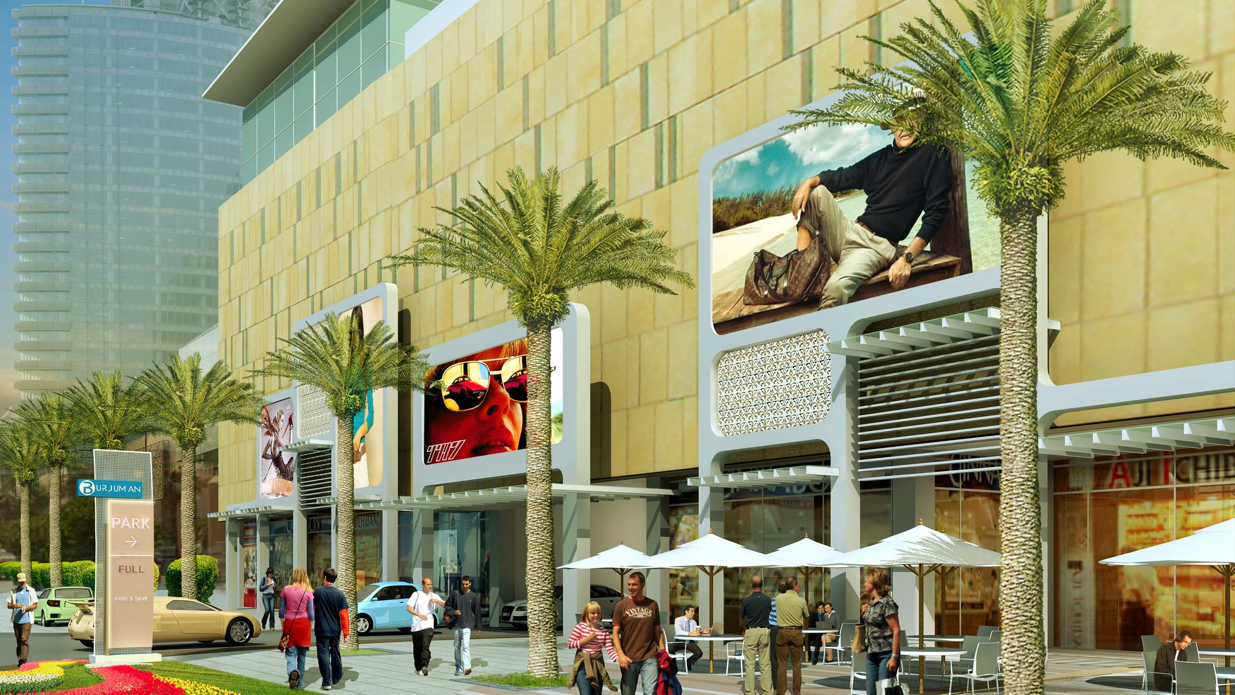 BURJUMAN MALL – Dubai, UAE