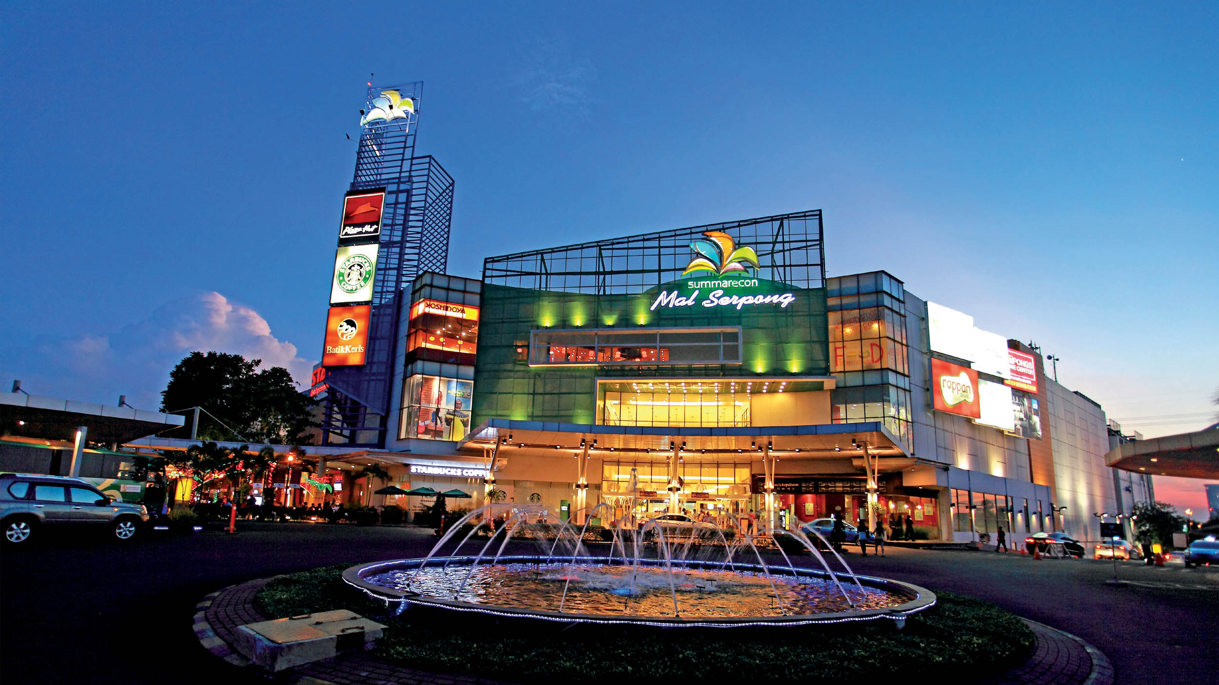 MAL SERPONG I & II   –   Jakarta, Indonesia
