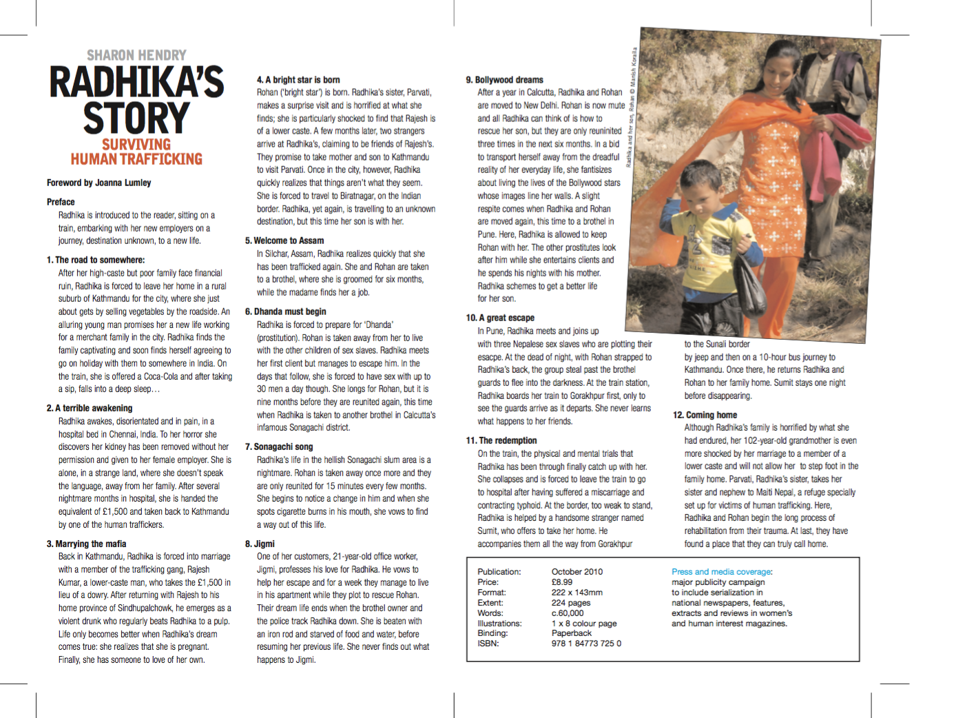Radhika's Story - Publisher Information