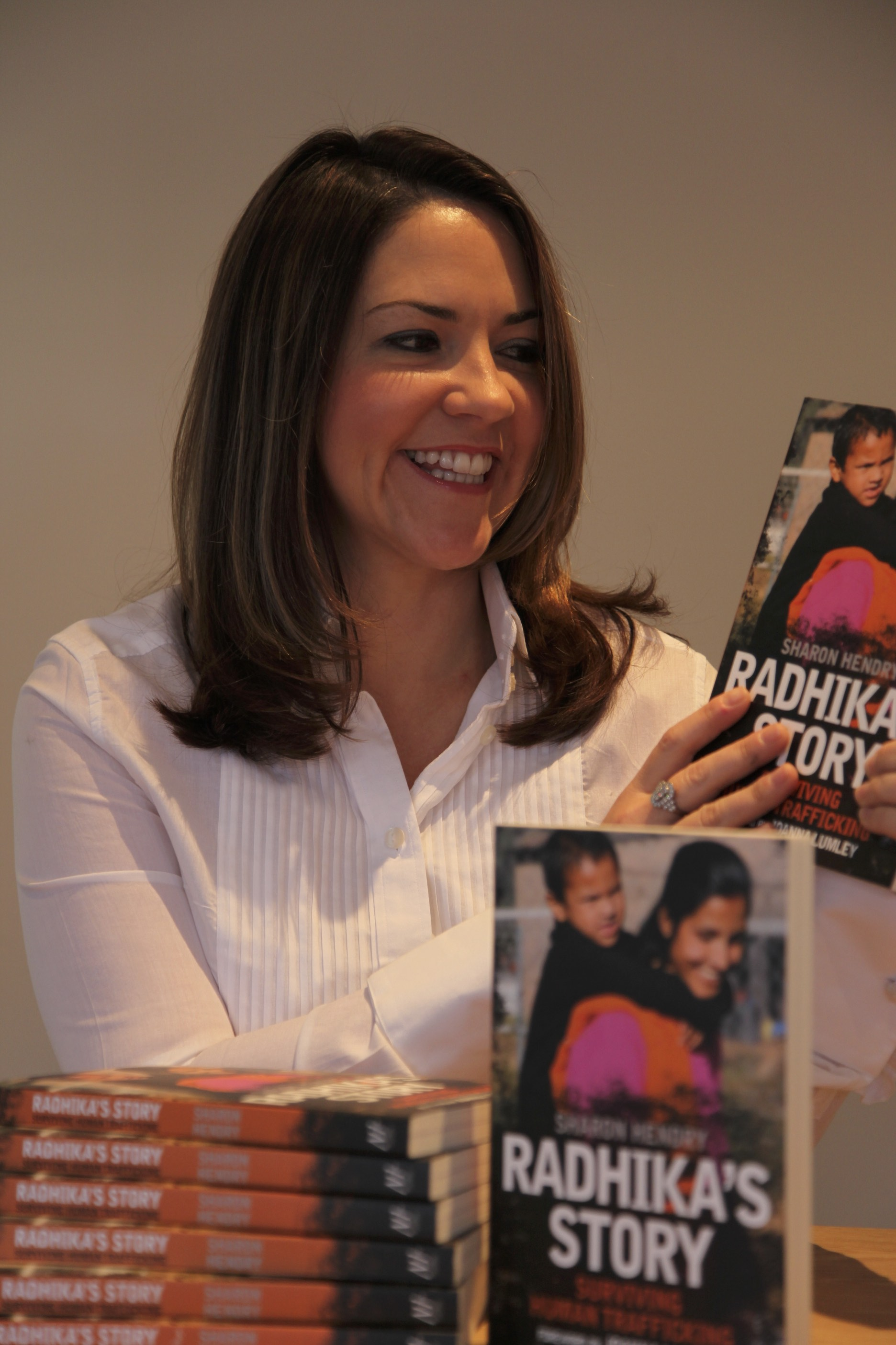 Sharon Hendry book launch