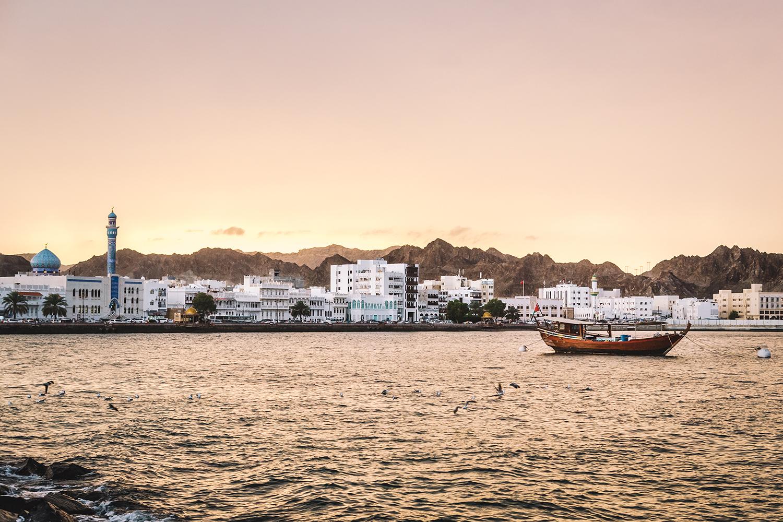 Corniche at sunset