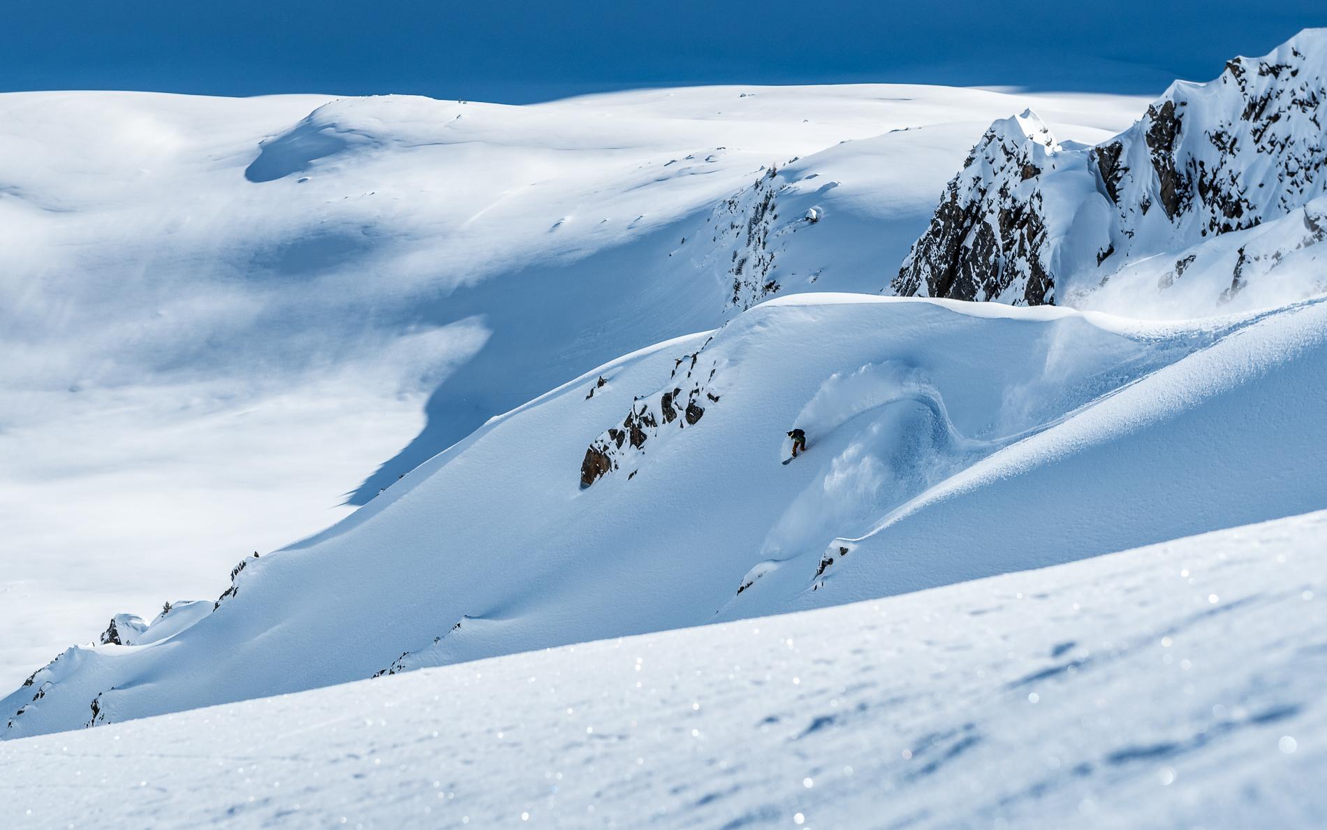 Mattia Vicentini in Tirol, Austria. Photo: Chris Riefenberg