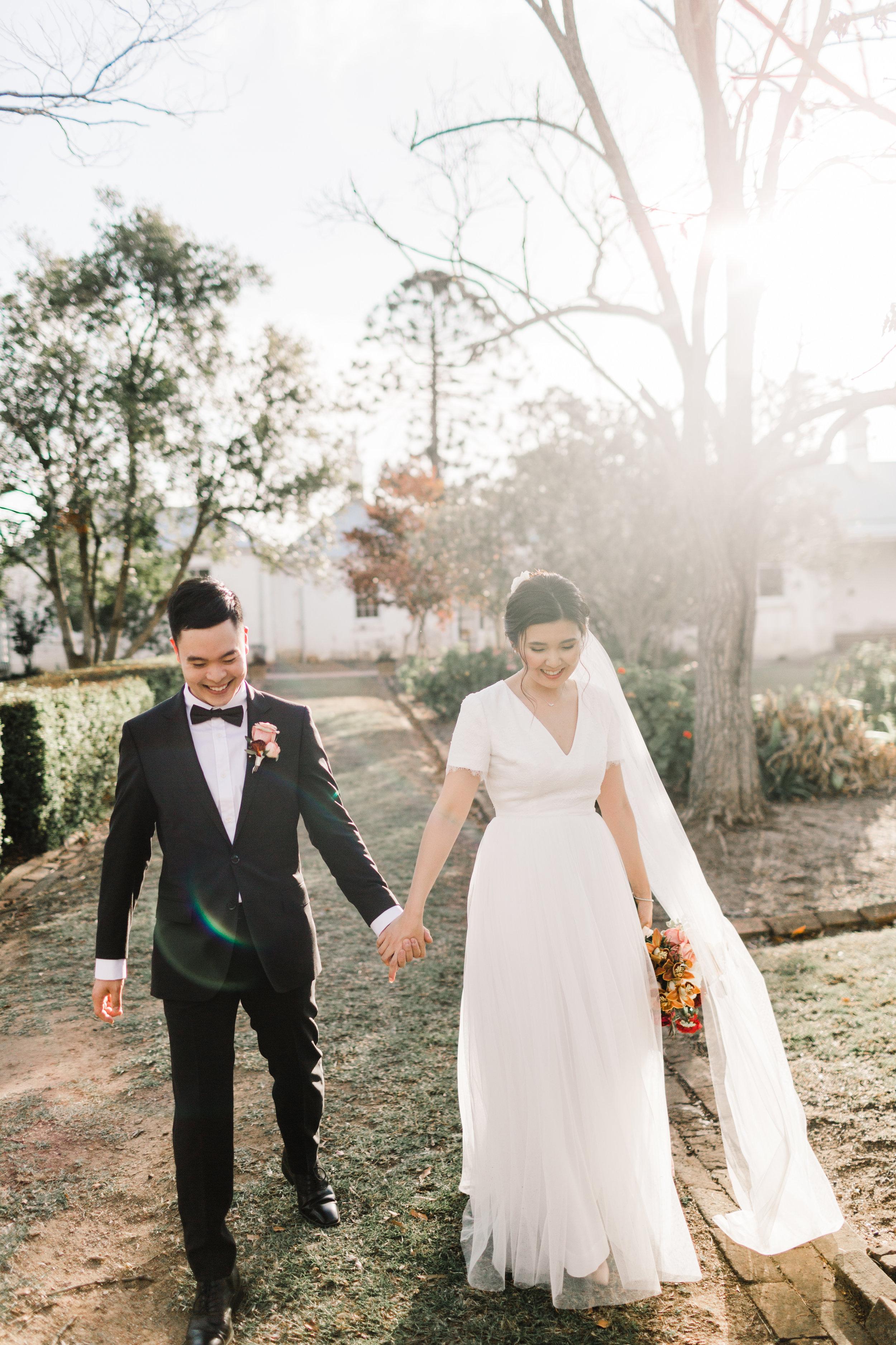 Tiffany and Dave Custom Bridal Dress Sydney Wedding
