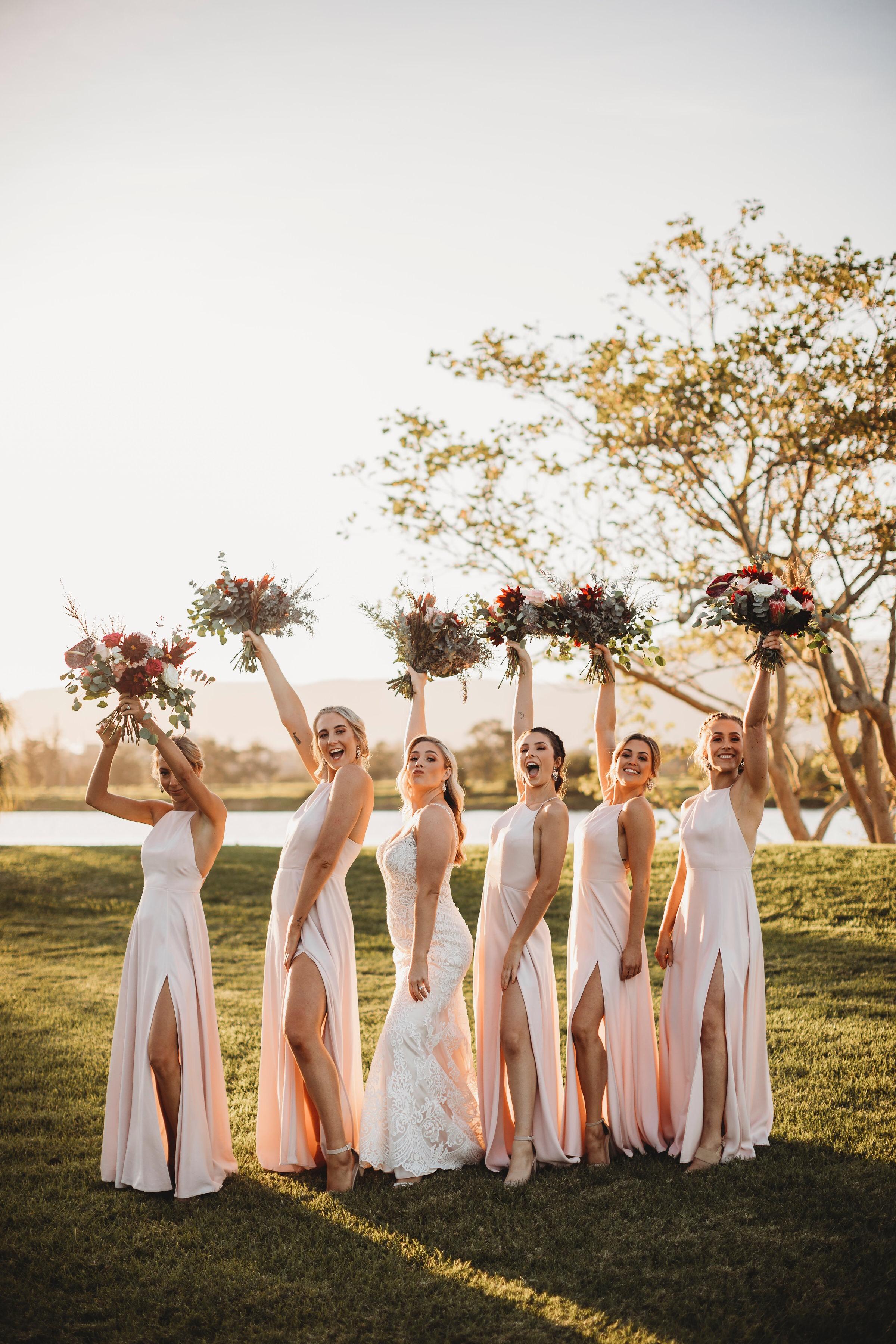 Stylish South Coast Autumn Wedding