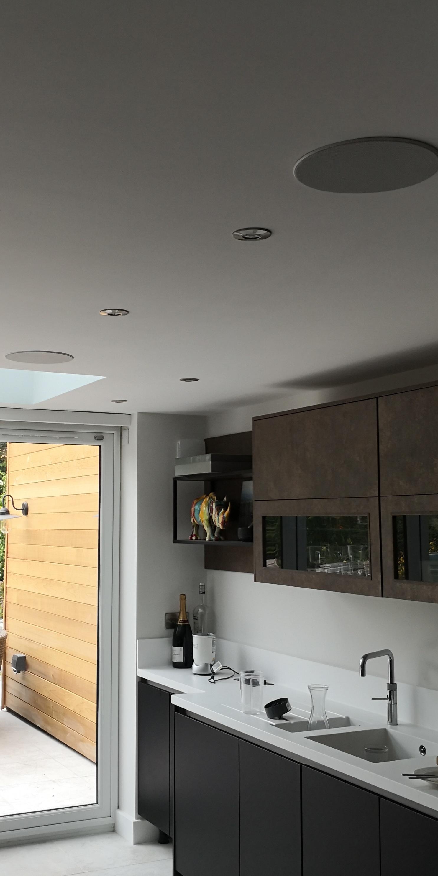 Kitchen speakers