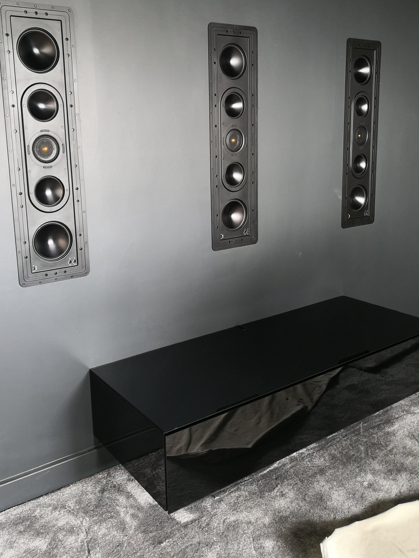 Floating AV cabinet