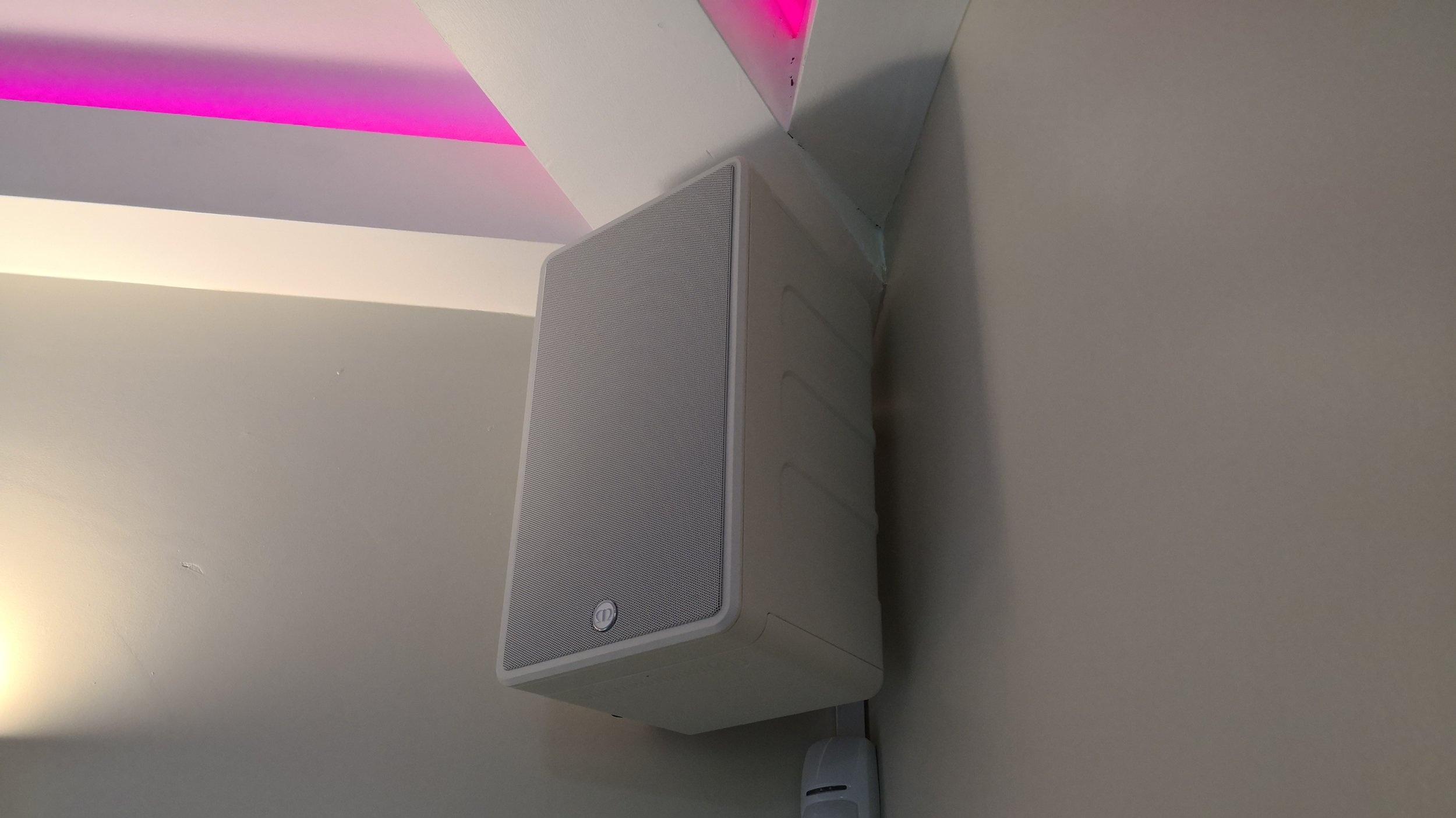 Wetroom speakers