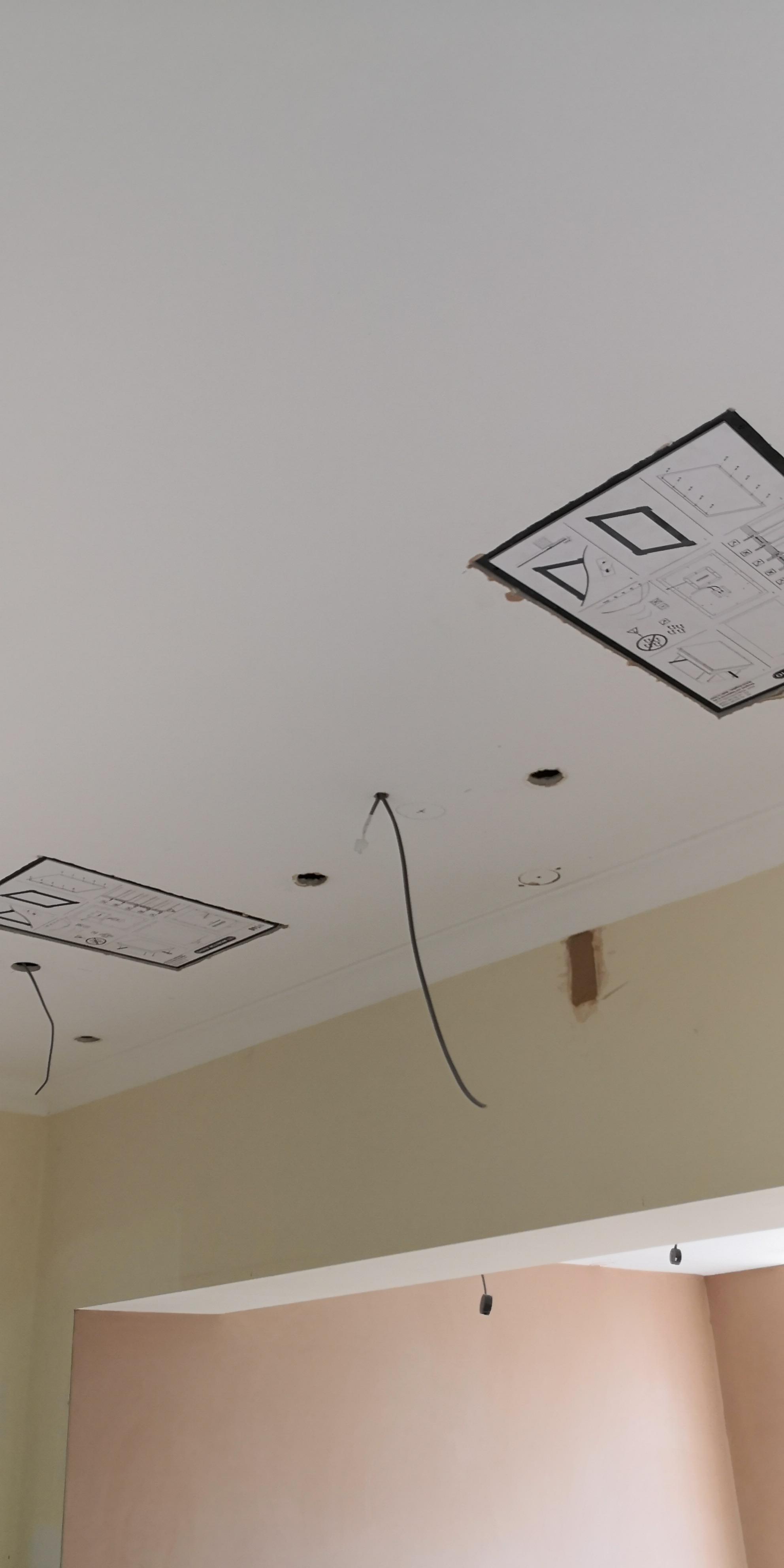 Plaster in speakers