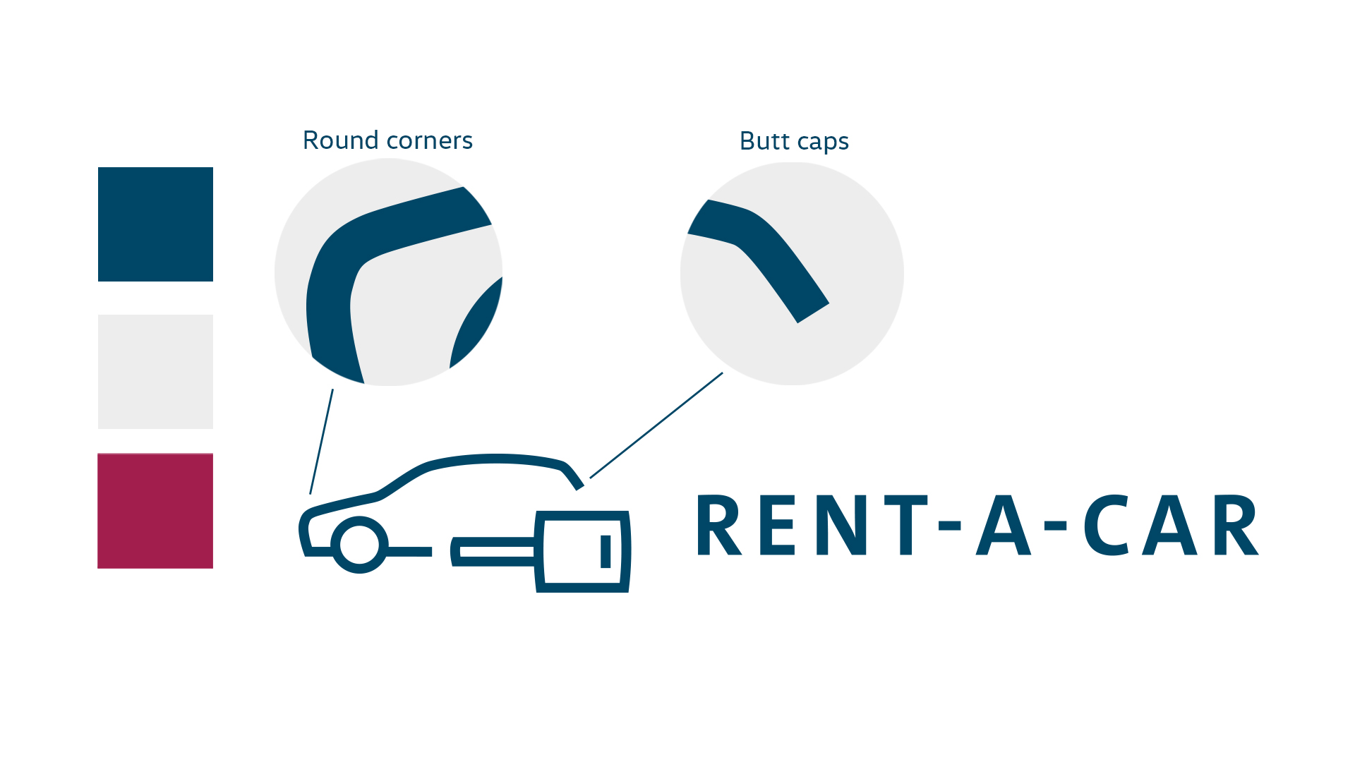 Volkswagen Financial Services - Rent a Car, Styleguide by PicPacker