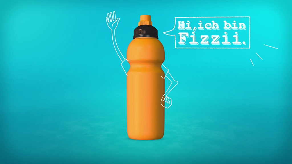 Fizzii Trinkflasche