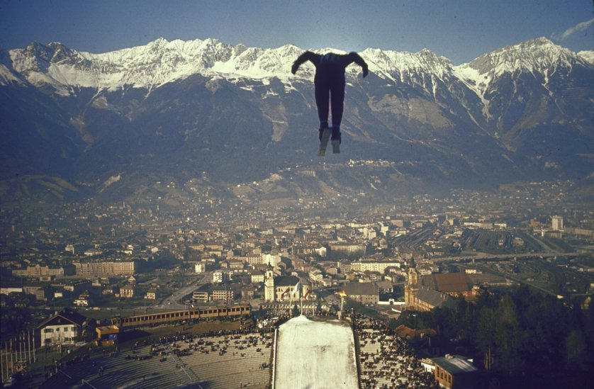 Ski Jump Innsbruck 1976(TIME magazine--Ralph Crane—Time & Life Pictures/Getty Images)