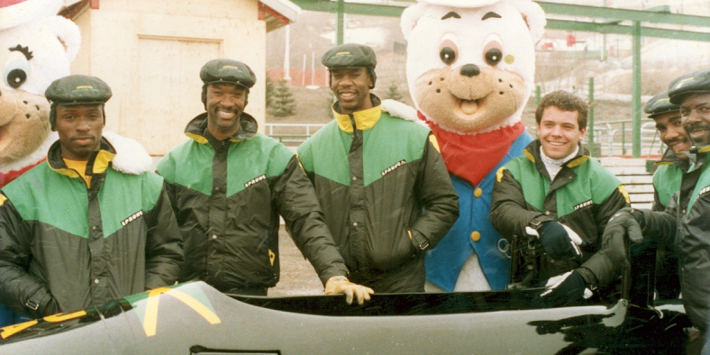 First Jamaican Bobsled team 1988 (Canada Alive!)