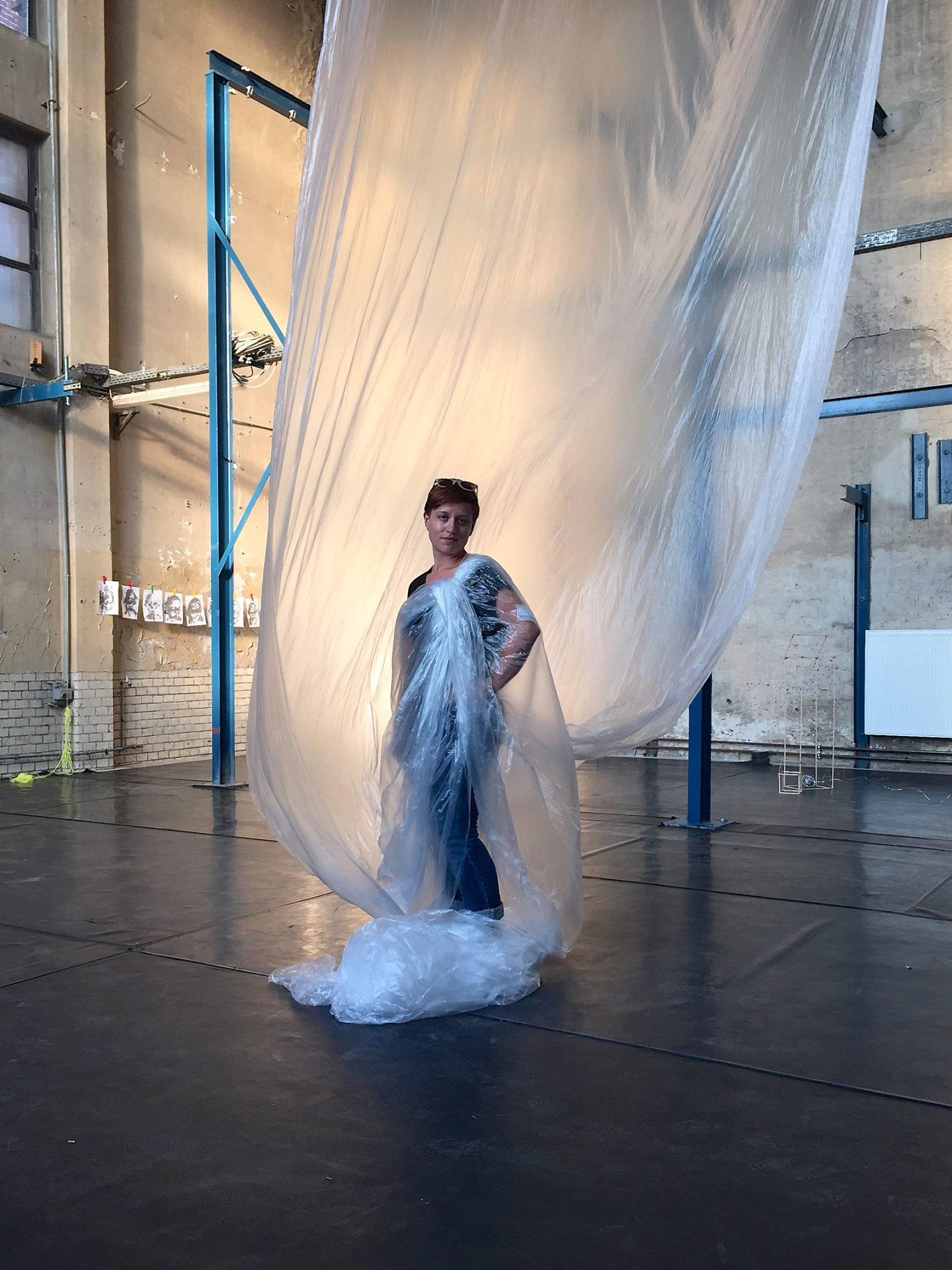 Allison Geremia, An exploration of adornment, 2015 - Wedding, Berlin.