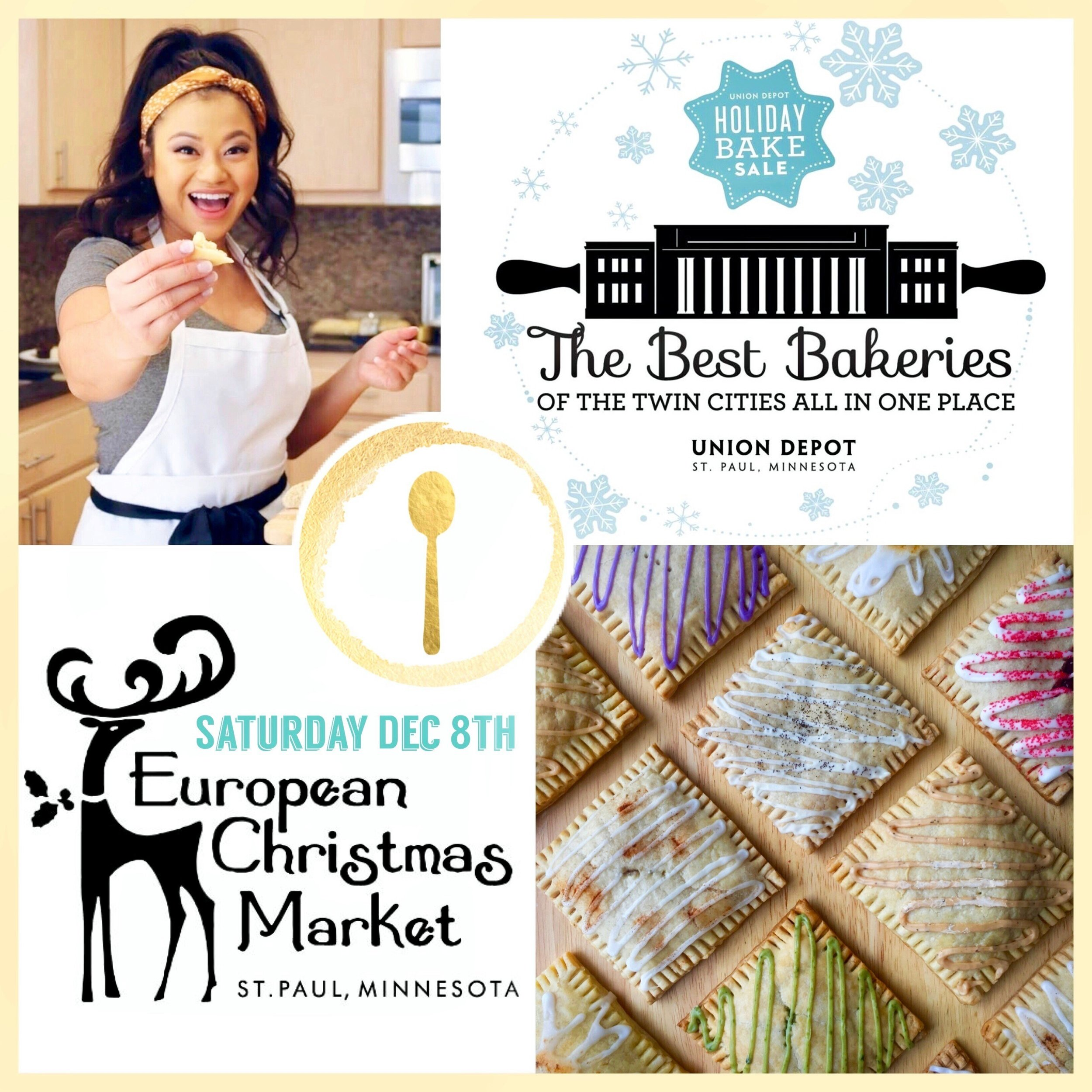 Visit us in-person! Saturday Dec 8th, 2019 - We are excited to announce that we are one of the new vendors at the Union Depot 2018 Holiday Bake Sale! There will be 30+ other local bakeries selling holiday goodies. This is your chance to purchase our most popular flavors, individually! We are located in the Union Depot Station in St.Paul along side the other bakeries. Warm up from the outdoor European Christmas Market outside and take a few steps inside, for a sweet treat. Bake Sale is from 10am-5pm or until supplies last. We hope to see you there! Cheers!