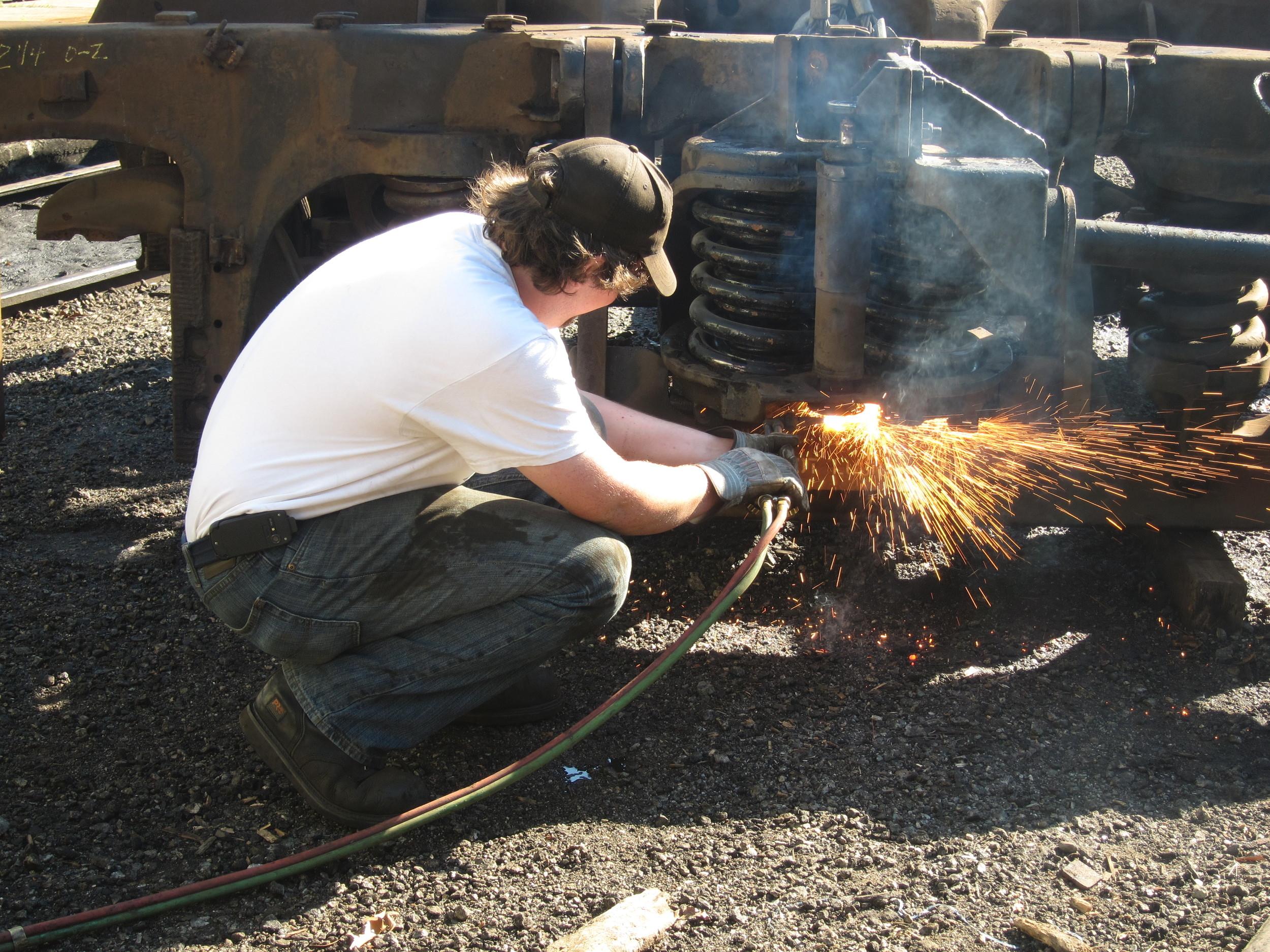 Truck & Bolster Rebuilds