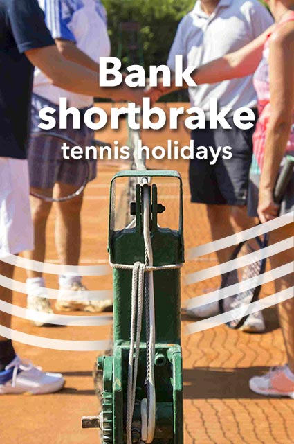 Short tennis breaks
