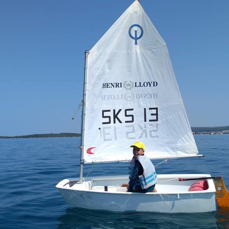 Sailing school for children