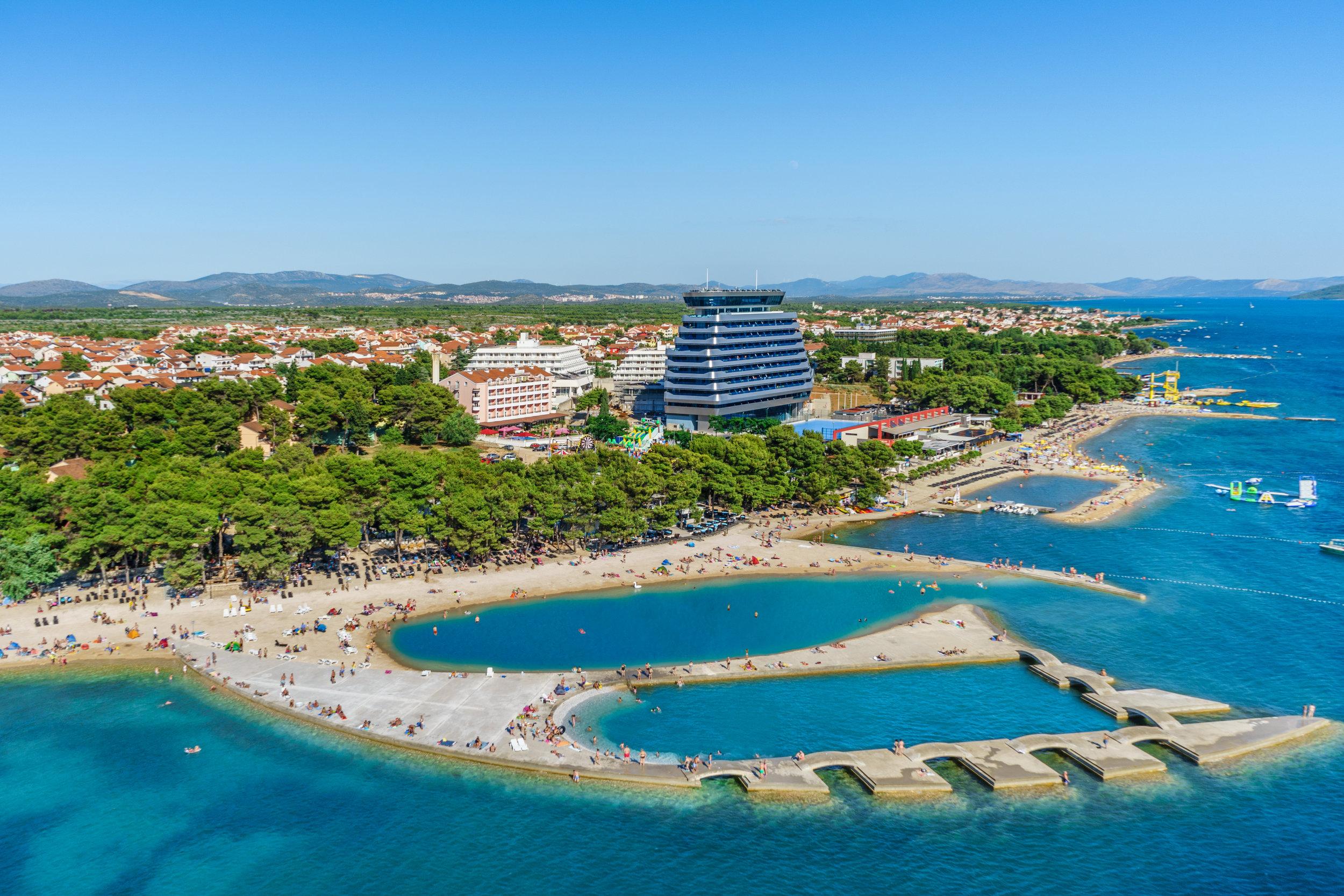 Andrija Carli - Vodice - Beach  Male Vrulje  (1).jpg
