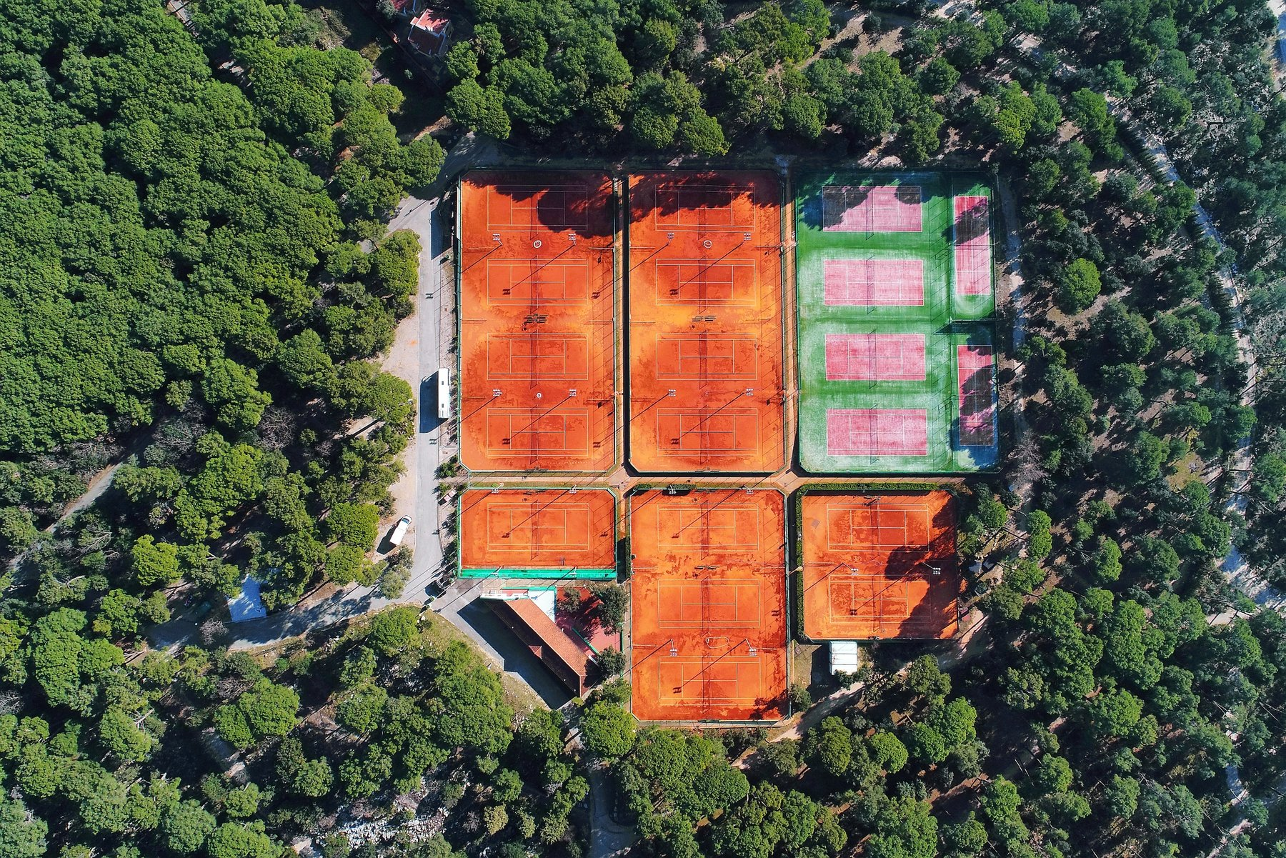 Tennis coaching holidays Europe