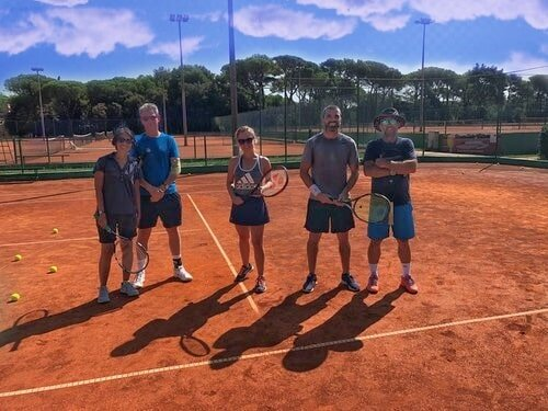 Group tennis holidays in Croatia