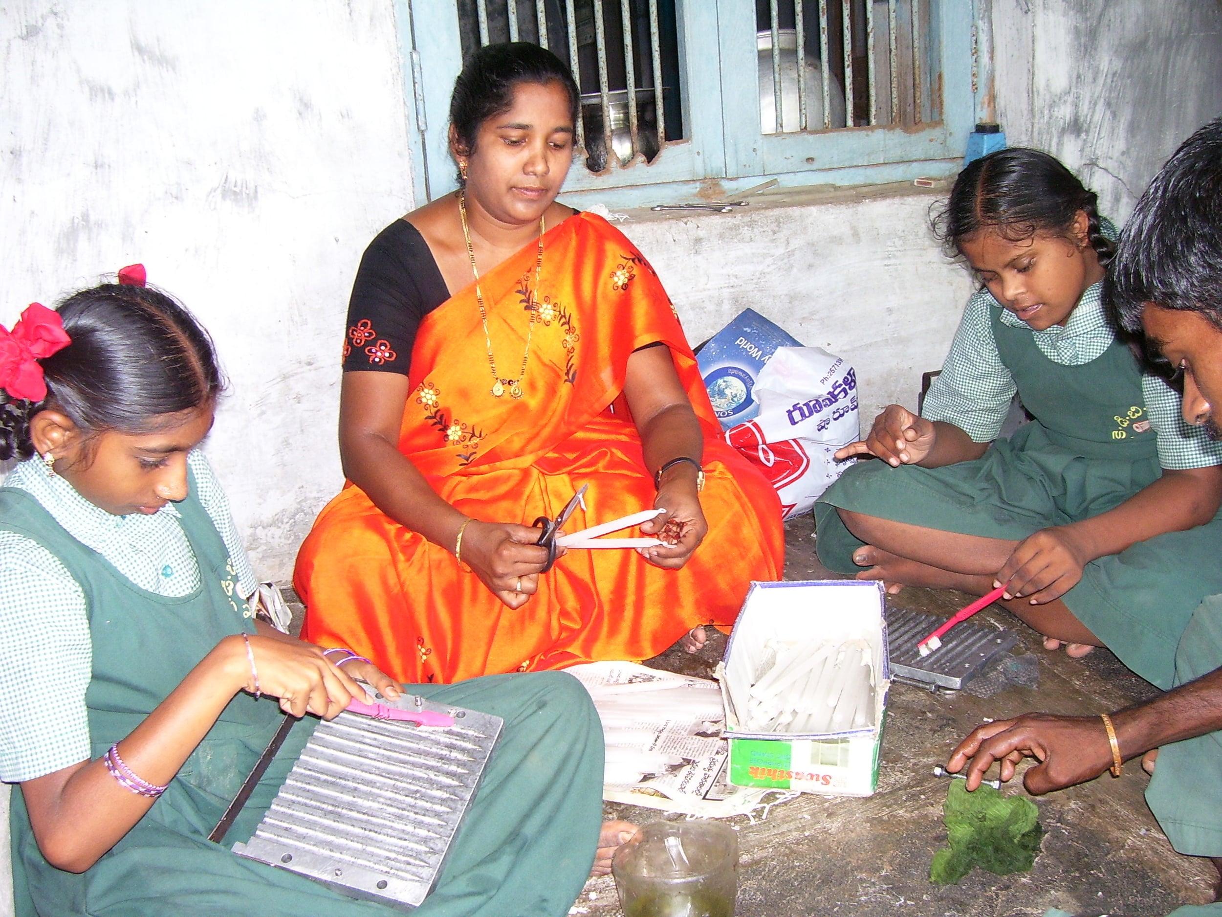 candle-making training