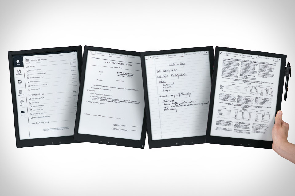 Sony Digital Paper (uncrate.com)