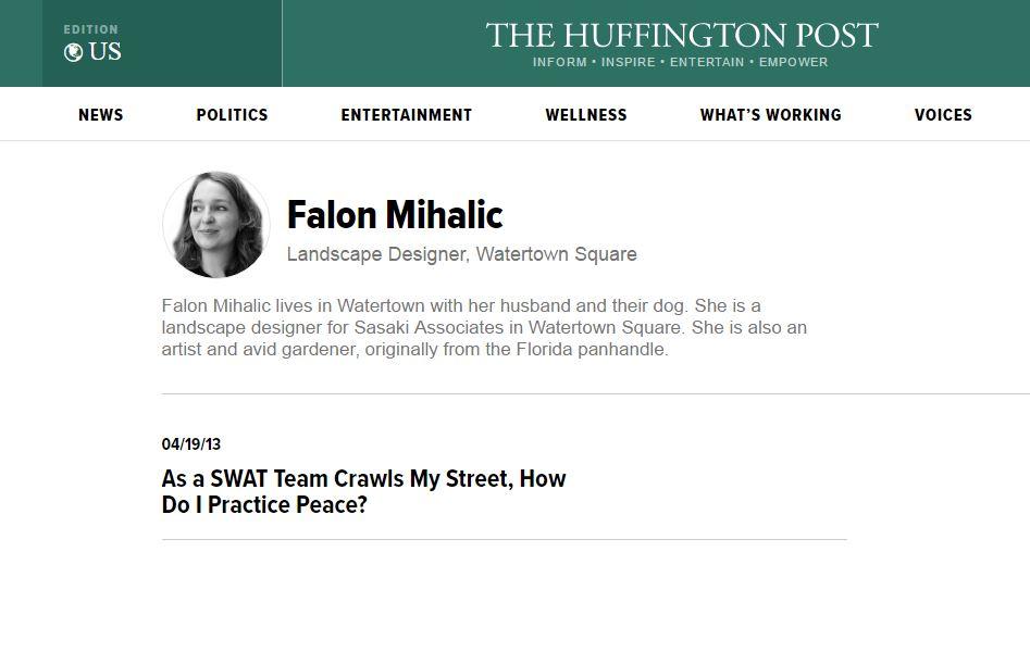 Huffington Post Blog