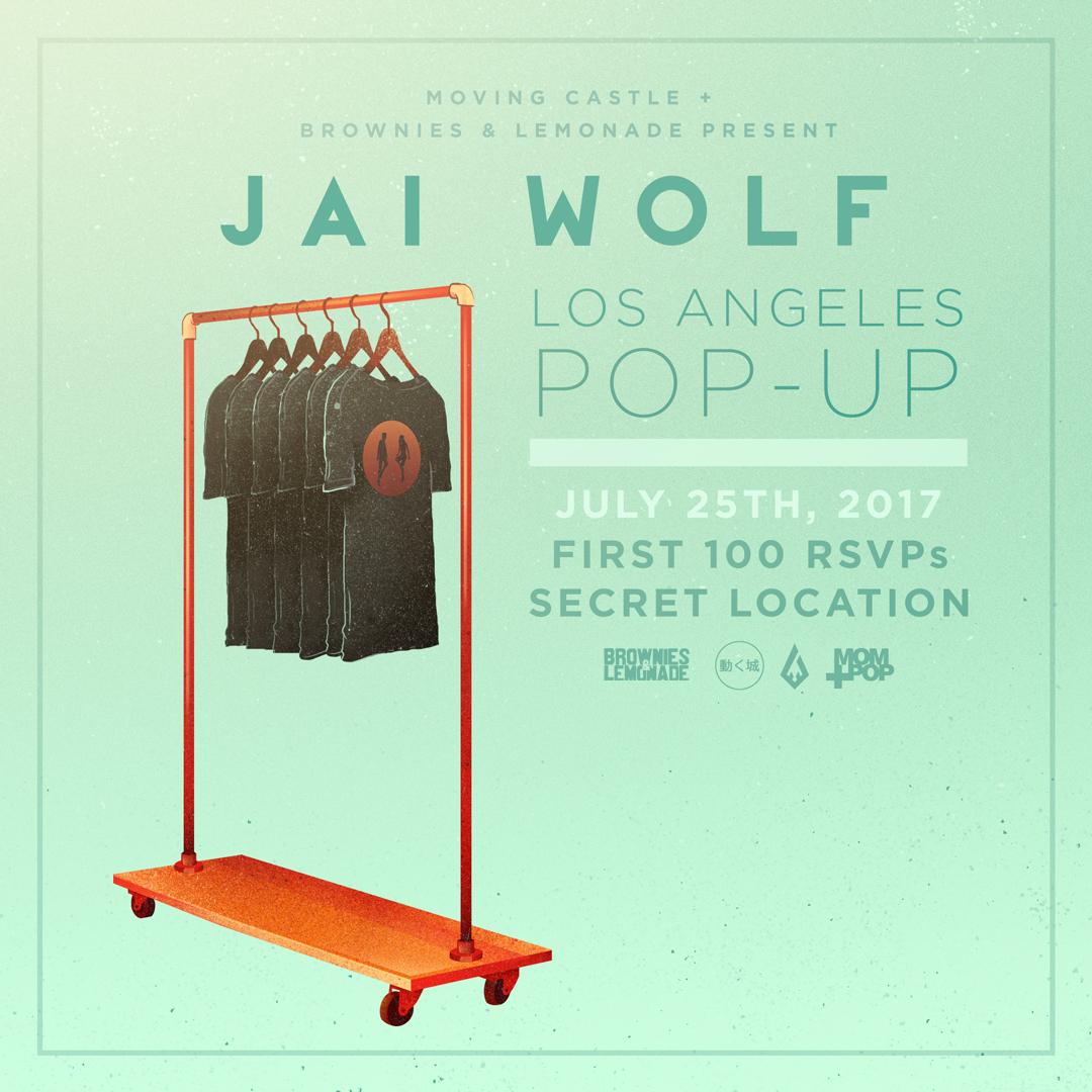 Jai Wolf LA Pop Up