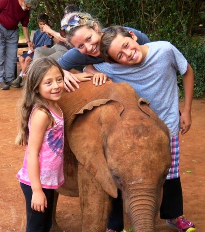 Daphe Sheldrick Elephant Orphanage, Kenya