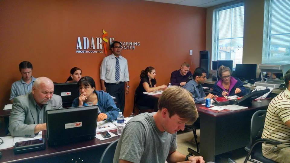 Dr. Rainer M. Adarve at the Adarve Learning Center in Apple Valley. MN