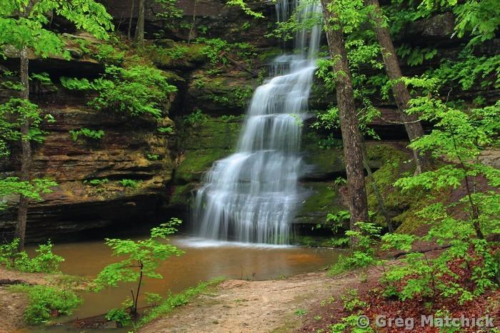 Waterfall In a Box Canyon 1