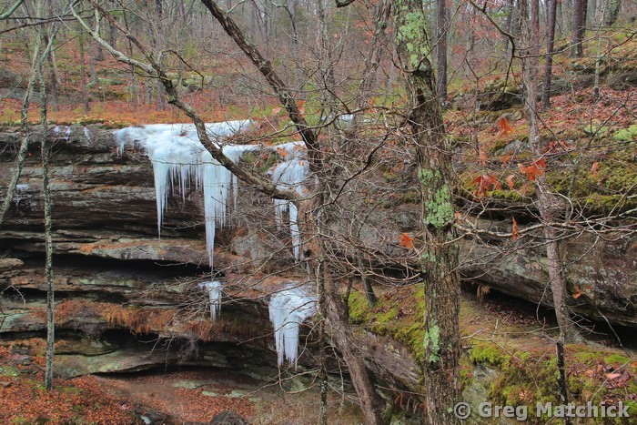 Icicles in Hickory Canyons 3