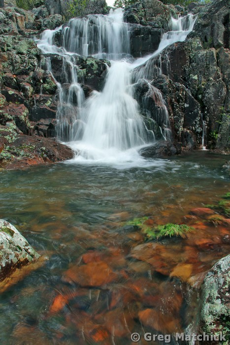Upper Mina Sauk Falls