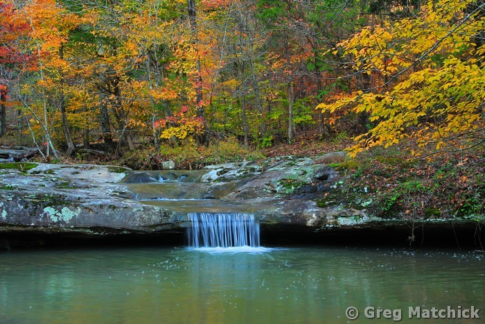 Woodland Creek in Shawnee National Forest 2