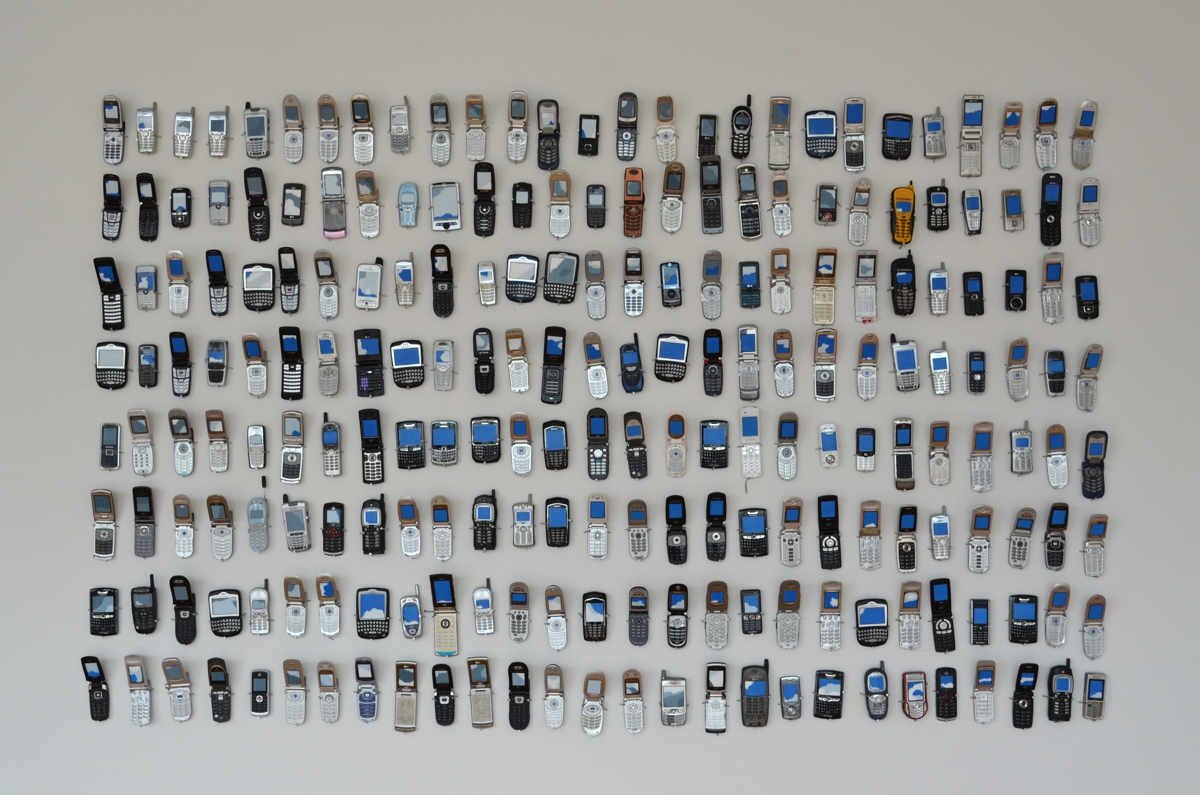 244 used cellphones