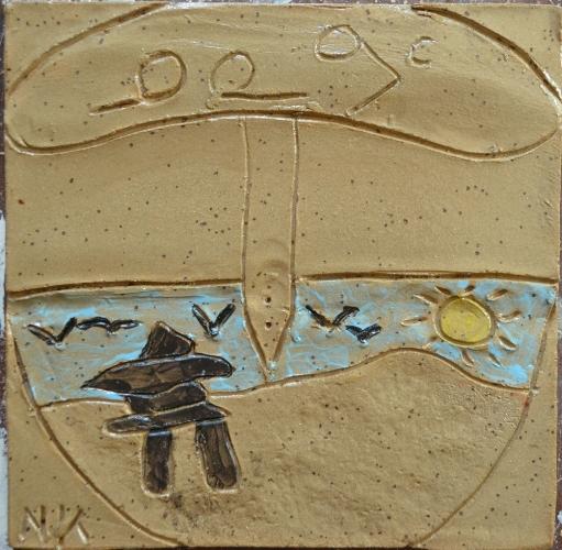 The syllabics ᓄᓇᕗᑦ mean Nunavut