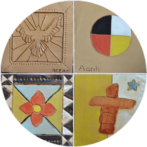 First Nations, Inuit and Metis tiles...
