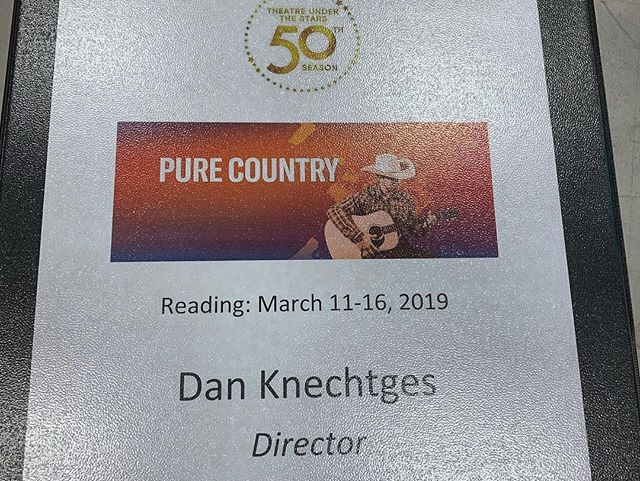 Had a great reading of Pure Country this weekend here in Houston. So fun! Can't wait to stage this beauty next year. #purecountry #TUTS50 #Texas #Houston #HoustonTheatre #TexasTheatre #HoustonArtists #Broadway #MusicalTheatre #Musicals