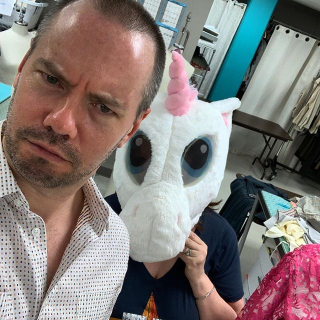 Odd creatures in the costume shop @tutshouston #TUTS50 #Texas #Houston #HoustonTheatre #TexasTheatre #HoustonArtists #Broadway #MusicalTheatre #Musicals