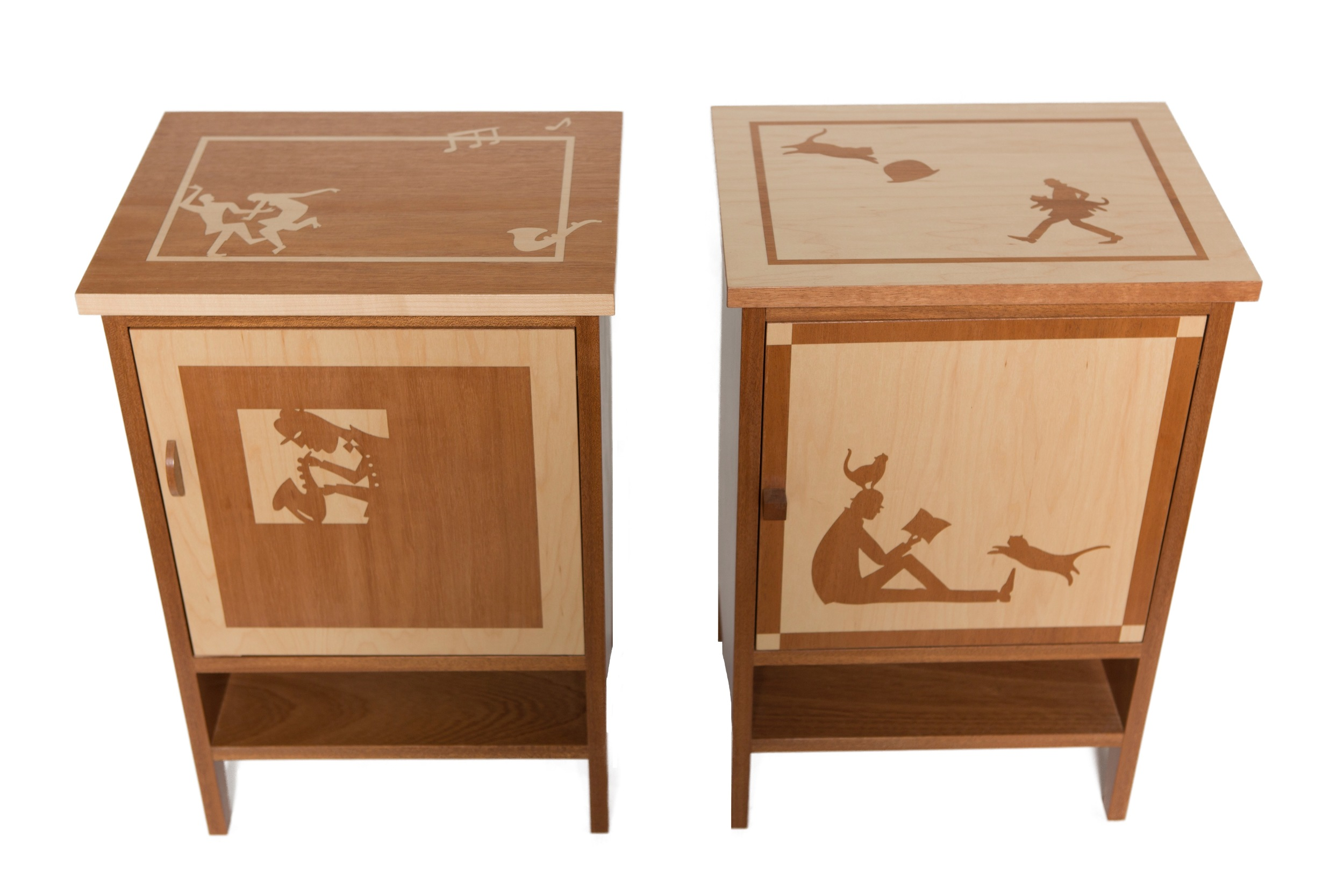We aim to engage your imagination by creating furniture with visual stories.