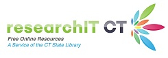 researchIT CT offers free online resources (journal, magazine, and newspaper articles) as a service of the CT State Library.