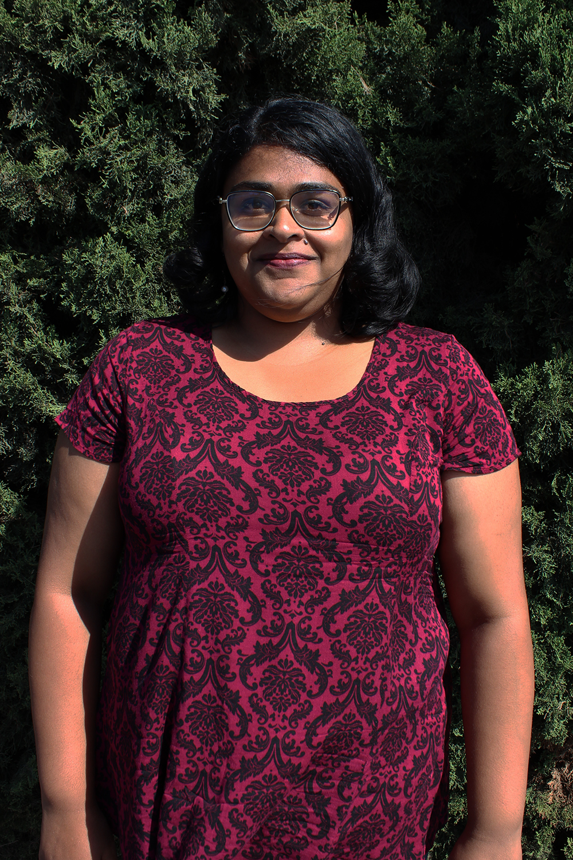 Priyanka Subramaniam, Sr. Coordinator of Development and Marketing