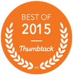 thumbtack best of 2015 badge