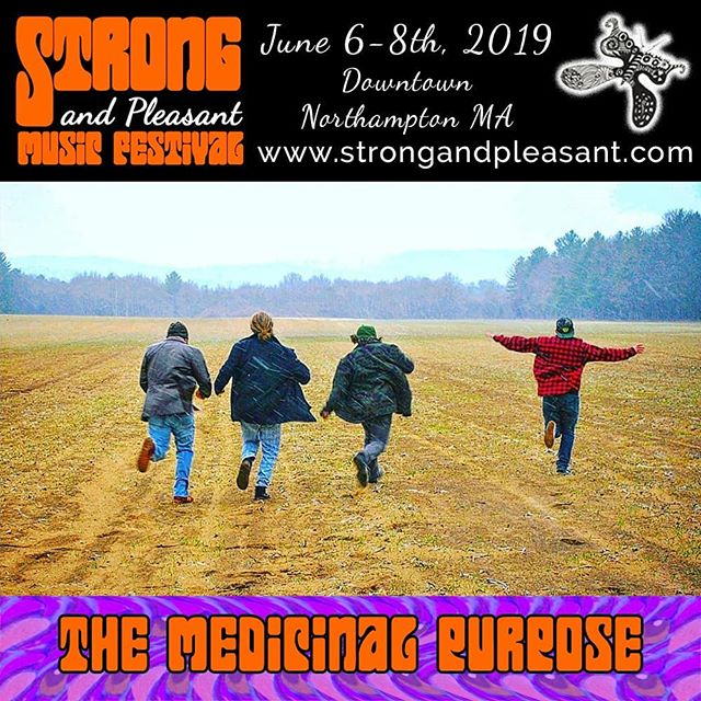 This Friday, babies... Gonna be a hoot! #themedicinalpurpose #thebuzz413 #strongandpleasant