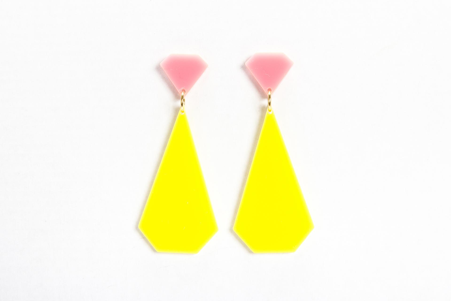 E2RD, My diamonds Collection, earrings