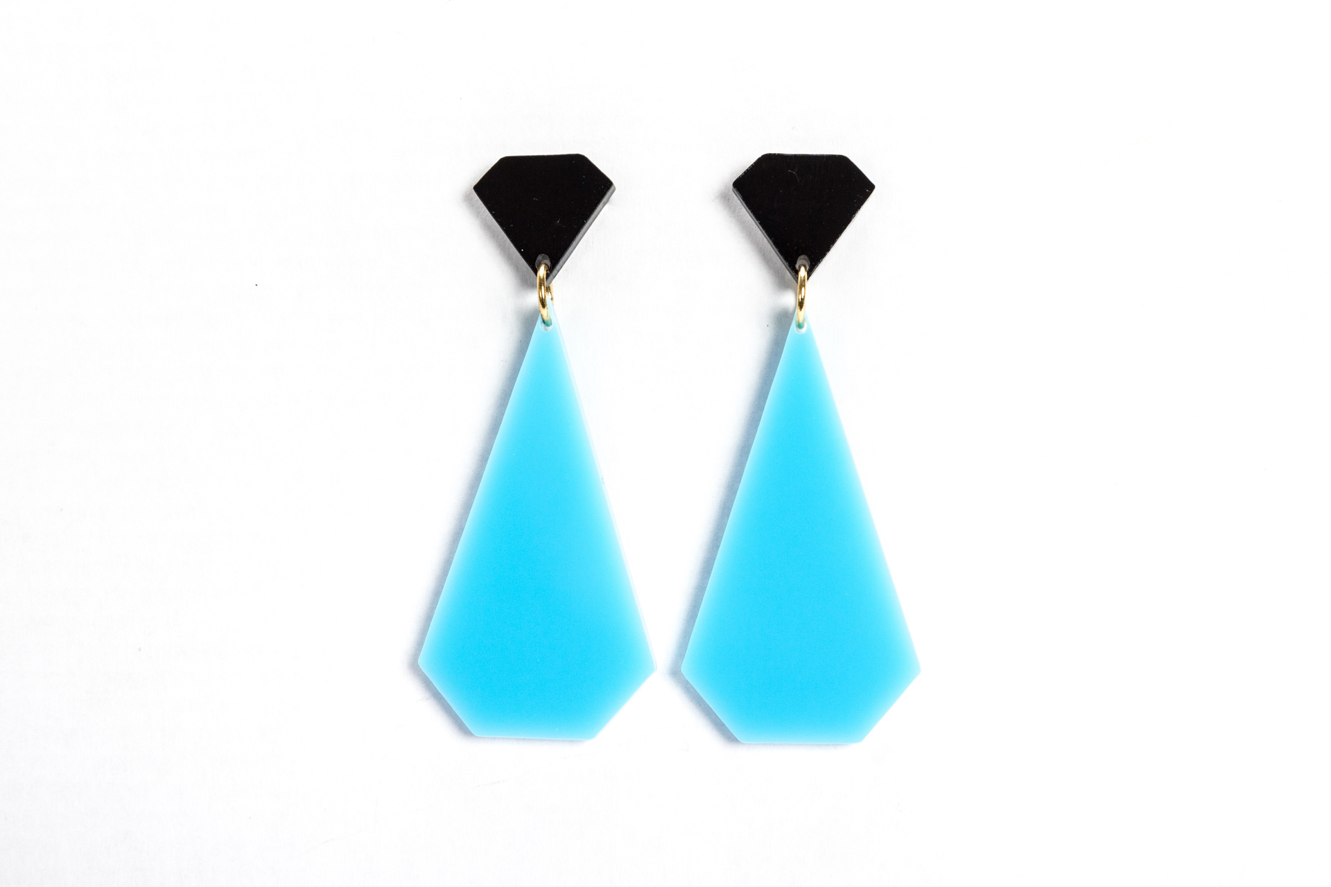 E2RD, My diamonds Collection, earrings, blue