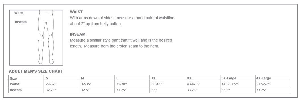 Size Chart - Nike Club Fleece Mens Jogger V2671010 ...