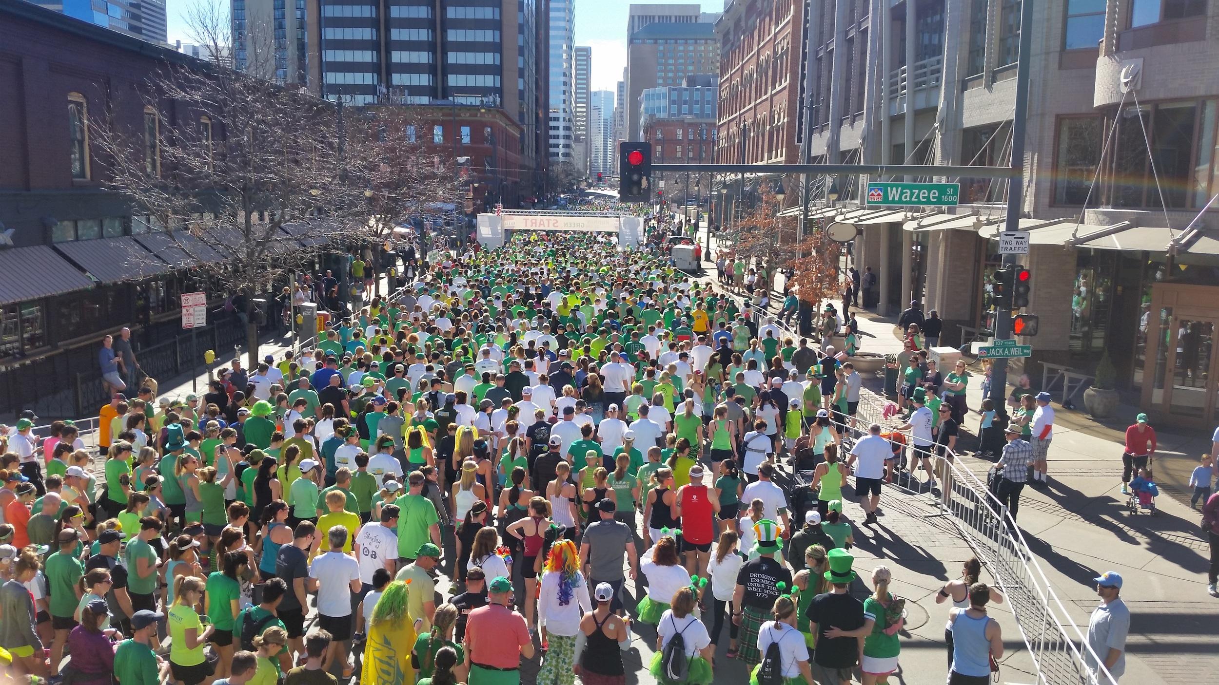 Runnin' Of The Green  Registration Opens Thanksgiving Day  Registration
