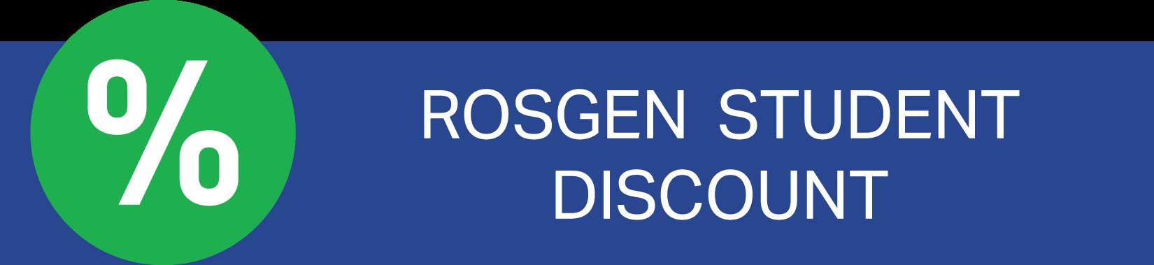 former rosgen students get a 15% discount
