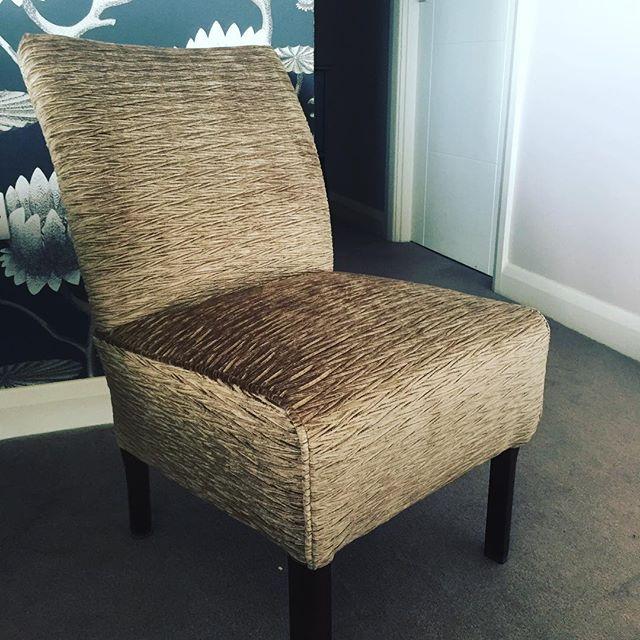 Newly refurbished chair